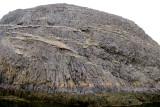 An island made of columnar basalt