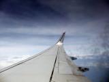 Cruising at 29,000 feet
