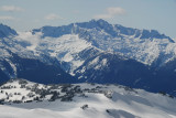 Views of the Tantalus Range from Brohm Ridge