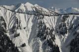 Views of Alice Ridge, views from Brohm Ridge