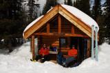 Enjoying the Sun at the Naiset Cabins