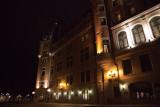 le chateau frontenac at night