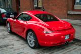 Montreal Red Porsche