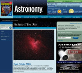 M16 Picture of the Day in Astronomy Magazine's Web Site - May 5, 2009