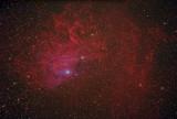 AE Aurigae and IC405 - The Flaming Star Nebula