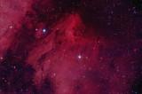 IC 5070 and IC 5076 The Pelican Nebula 1300-pixels