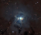 NGC7023 vdB139 C12 Central Area of the Iris Nebula in Cepheus