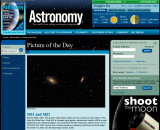 M81 and M82 Picture of the Day in Astronomy Magazines Web Site, Sept, 1st, 2010