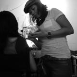 effie, make-up artist