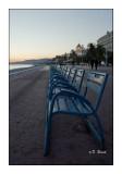 Les chaises bleues - Nice - 2776