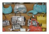 Purses in a shop