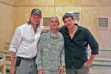 David with USO celebrities.