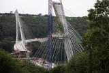 Térénez bridge in construction