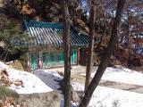 Samsunamsa Temple in winter