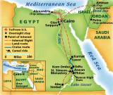 Egypt and Jordan