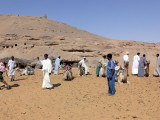 The Camel ride to St. Simeon Monastery