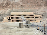 The main building at the mortuary complex of the female pharaoh Hatshepsut