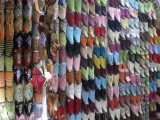 Shoes in a Moroccan Medina