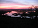 Sunset on the Chobe Flood Plain