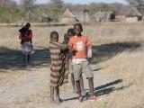 Children Outside a Local Homestead
