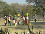 A Water Hole Project Sponsored by Grand Circle Foundation at a Village in Zimbabwe