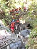 Hiking Down 720 Vertical Feet  to Reach the River