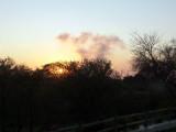 Sunrise Off the Rising Morning Mist