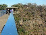 Bungee Jumping from 110 Meters From the Bridge Separating Zimbabwe and Zambia