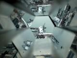 View Through a Kaleidescope Tube