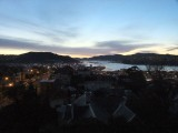 View From Our B & B in Dunedin