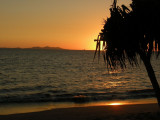 Sunset at Denerau Island Off the West Coast of Nadi, Fiji