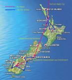 New Zealand and Fiji