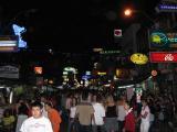 walking down Khao San Road