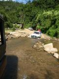 crossing water