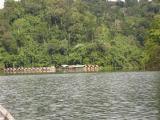 floating raft houses