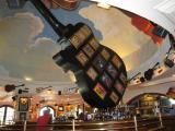 inside the Hard Rock Cafe, Bali