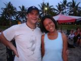 Tom (Funkey Monkey) with his friend