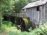 John P. Cable Mill,   Mill Flume, at Cades Cove