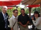 Kevin, Nick, Tom and Jennifer