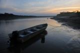 River sunset over the Rio Ichilo