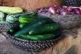 Fresh vegetables at La Vispera