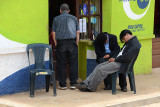 Sleeping it off in Samaipata