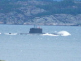 Norwegian Submarine in Force 10