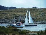 Maritimt liv i Rongsund-Rongesund-Divers-Sailors