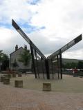 The New Sundial in Stalybridge Cheshire