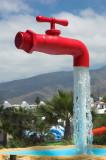 Tap in Tenerife Water Park
