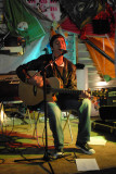CHRIS CYPRUS performing in the Woodend Mills Exhibition event