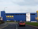 Ikea the blot on the landscape in Ashton-under-Lyne