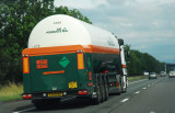 Tankers and Lorrys on the Motorway
