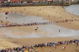 Sky Divers from the Armed Forces day on Scarborough beach